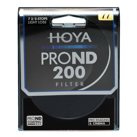 Hoya 55mm PRO ND200 ND Filter