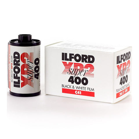 Ilford XP2 Super 400 Black and White Negative Film - 36 Exposures