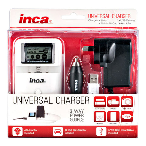 Inca Universal Battery Charger