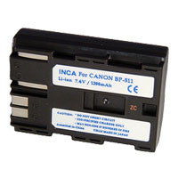 Inca Canon BP-511 Replacement Battery Pack - BP511