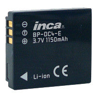 Inca Panasonic CGA-S005 Replacement Battery Pack - CGAS005