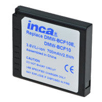 Inca Panasonic DMW-BCF10 Replacement Battery Pack - DMWBCF10