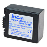 Inca Panasonic DMW-BLB13 Replacement Battery Pack - DMWBLB13