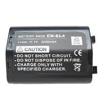 Inca Nikon EN-EL4 Replacement Battery Pack - ENEL4