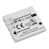 Inca FujiFilm NP-40 Replacement Battery Pack - NP40