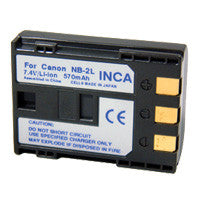 Inca Canon NB-2L Replacement Battery Pack - NB2L