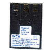 Inca Canon NB-3L Replacement Battery Pack - NB3L