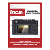 "Inca Universal 4.0"" LCD Screen Protector - 3 Sheets"