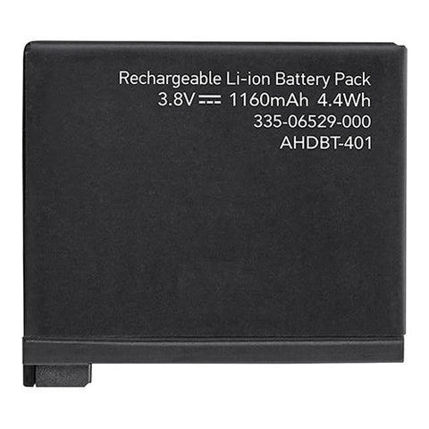 Inca GoPro AHDBT-401 Replacement Battery Pack for Hero4