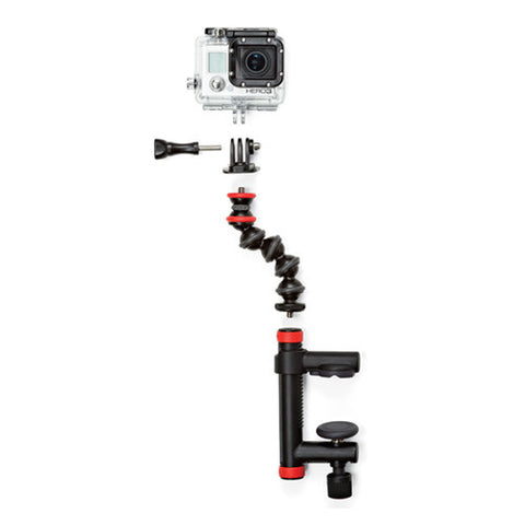 Joby Action Clamp & Gorillapod Arm with Mount for GoPro