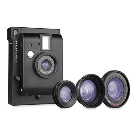 Lomography Lomo'Instant Instant Camera & Lenses - Black