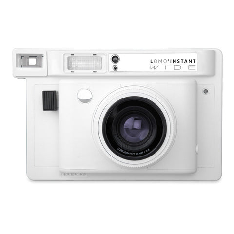 Lomography Lomo'Instant Wide Instant Camera - White