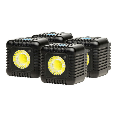 Lume Cube Portable Flash & Video Light - Gunmetal Grey - 4 Pack