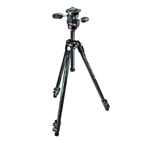 Manfrotto MK290XTC3-3W Carbon Fibre Tripod Kit