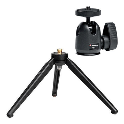 Manfrotto 209 Table Top Tripod & 492 Ball Head Kit