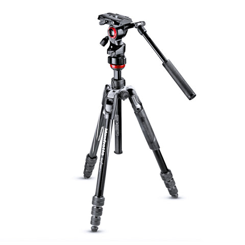 Manfrotto Befree Live Fluid Video Tripod Kit with Twist Leg Locks