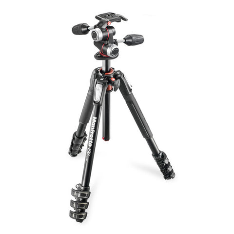 Manfrotto MK190XPRO4-3W Tripod Kit with X-PRO 3-Way Head