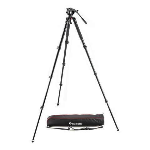 Manfrotto MVK500AQ Aluminium Video Tripod Kit