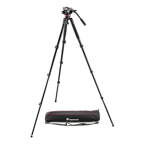 Manfrotto MVK502AQ Aluminium Video Tripod Kit