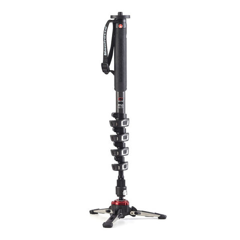 Manfrotto XPRO MVMXPROC5 Carbon Fibre Fluid Video Monopod with FLUIDTECH Base