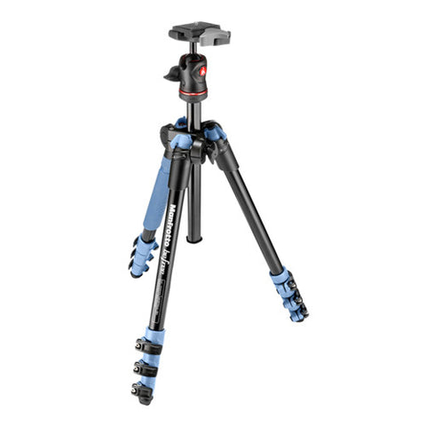 Manfrotto Befree Tripod Kit with Ball Head - Blue