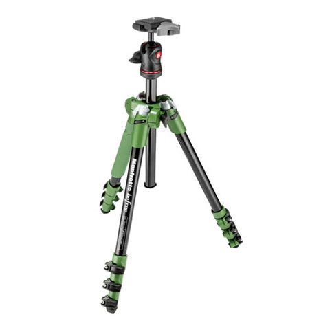 Manfrotto Befree Tripod Kit with Ball Head - Green
