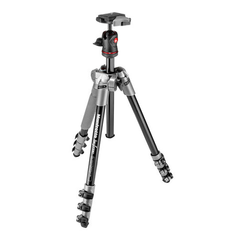 Manfrotto Befree Tripod Kit with Ball Head - Grey