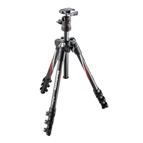 Manfrotto Befree Carbon Tripod Kit with Ball Head - MKBFRC4-BH