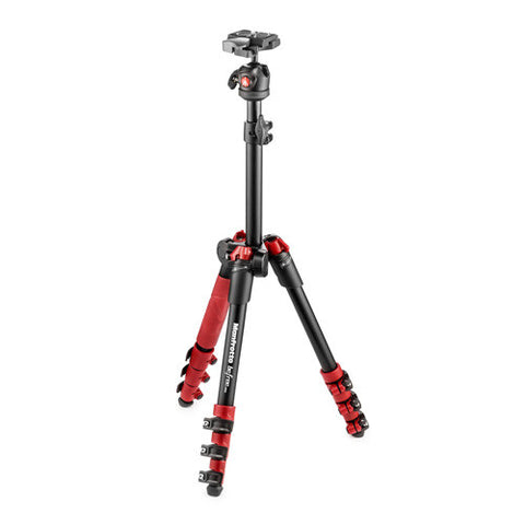 Manfrotto Befree One Tripod Kit with Ball Head - Red