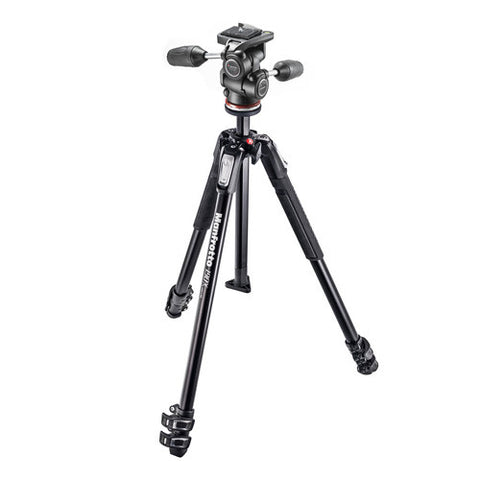 Manfrotto MK190X3-3W1 Tripod Kit with MH804-3W Head