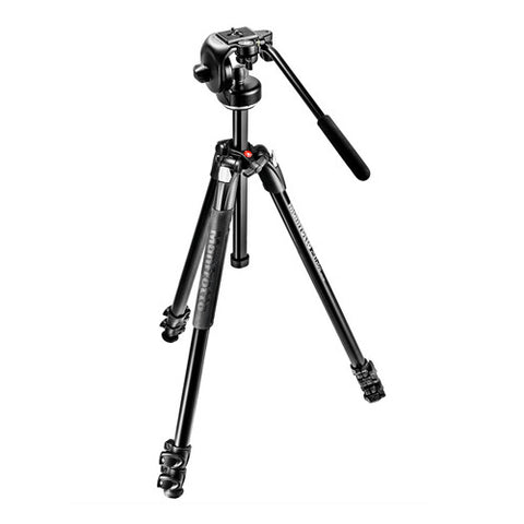 Manfrotto MK290XTA3-2W Fluid Video Tripod Kit