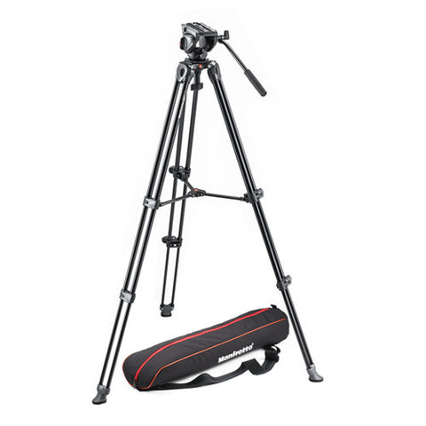 Manfrotto MVK500AM Lightweight Fluid Video Tripod Kit