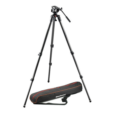 Manfrotto MVK500C Lightweight Fluid Video Tripod Kit