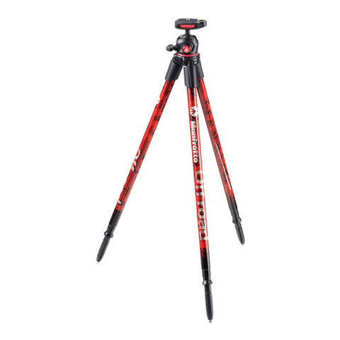 Manfrotto Off Road Tripod - Red