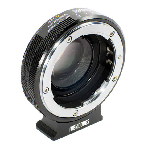 Metabones Speed Booster Adapter XL MB-123 Nikon G to Micro Four Thirds