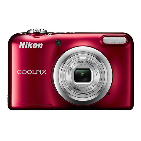 Nikon COOLPIX A10 Digital Camera - Red