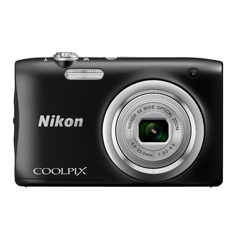 Nikon COOLPIX A100 Digital Camera - Black