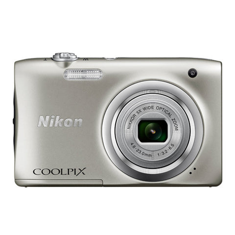 Nikon COOLPIX A100 Digital Camera - Silver