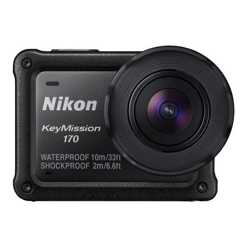 Nikon KeyMission 170 Action Cam - Black