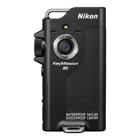 Nikon KeyMission 80 Action Cam - Black
