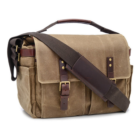 ONA Astoria Messenger Bag - Field Tan