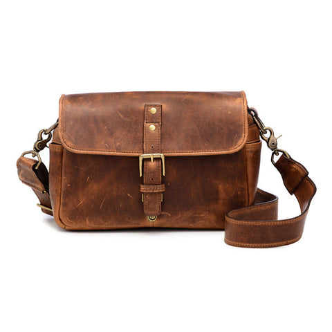 ONA Bowery Messenger Bag - Antique Cognac