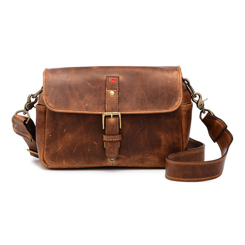 ONA Bowery Messenger Bag - Antique Cognac - Leica