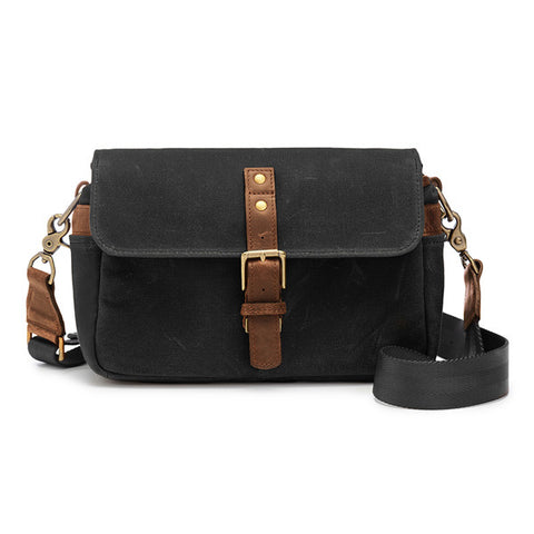 ONA Bowery Messenger Bag - Black