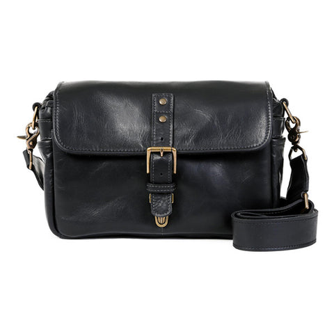 ONA Bowery Messenger Bag - Black Italian Leather