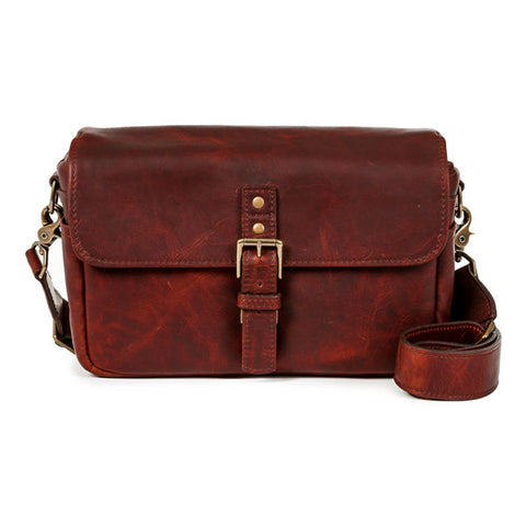 ONA Bowery Messenger Bag - Bordeaux