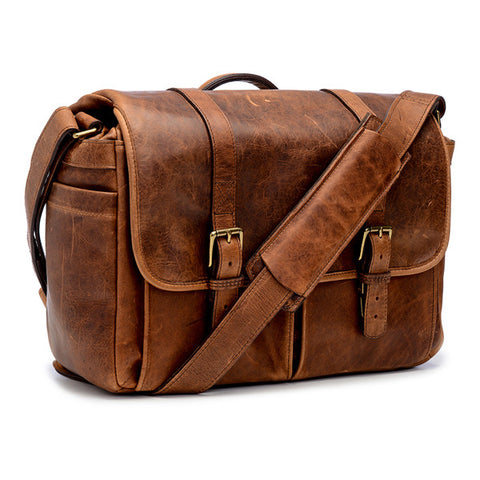ONA Brixton Messenger Bag - Antique Cognac