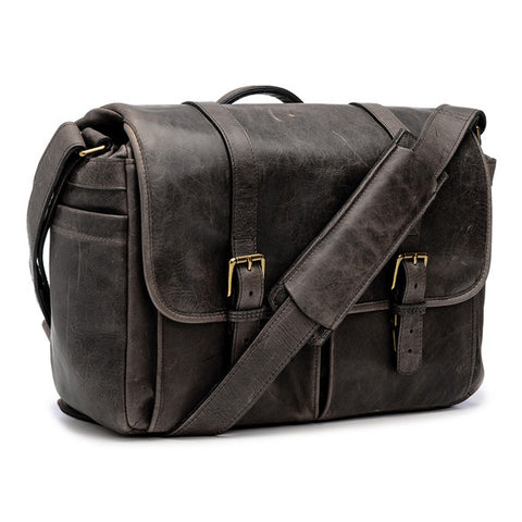 ONA Brixton Messenger Bag - Dark Truffle