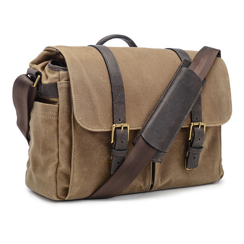ONA Brixton Messenger - Field Tan