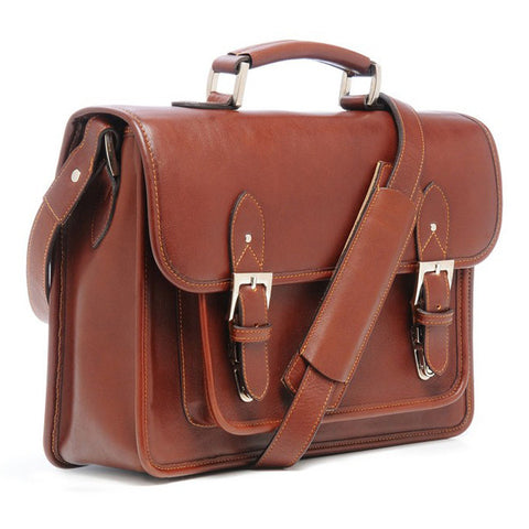 ONA Brooklyn Shoulder Bag - Chestnut